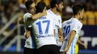 El Málaga ganó el Carranza por primera vez en su historia