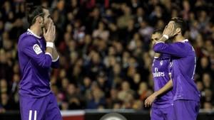 El Real Madrid no consigue ganar los partidos fuera del Bernabéu