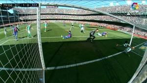 Este gol del Barça en el Benito Villamarín esta temporada hubiera subido al marcador con el uso del VAR
