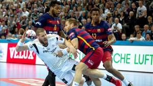 El Barça Lassa cayó en año pasado en Kiel en la ida de cuartos