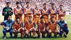 Este fue el equipo que presentó el FC Barcelona en Wembley y logró la primera Copa de Europa para la entidad