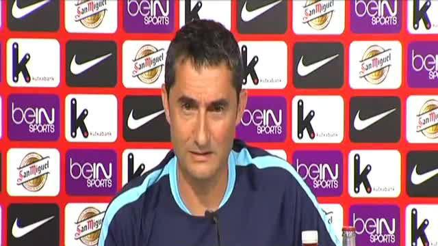 Valverde elogió a Messi cuando era entrenador del Athletic