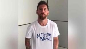 El mensaje de Messi