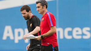 Valverde no tiene dudas sobre el papel de Messi en el equipo