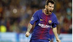 Messi dio toda una exhibición en el Camp Nou