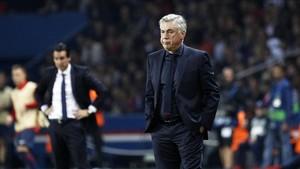 Ancelotti pende de un hilo