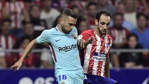 Valverde no cuenta con Alba para el partido ante el Málaga