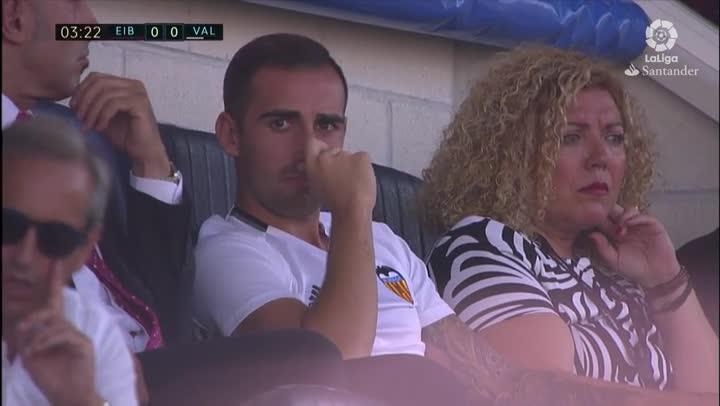 Alc�cer vio al Valencia desde la grada
