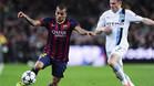 �Qui�n es el rival m�s complicado de marcar para Alves?