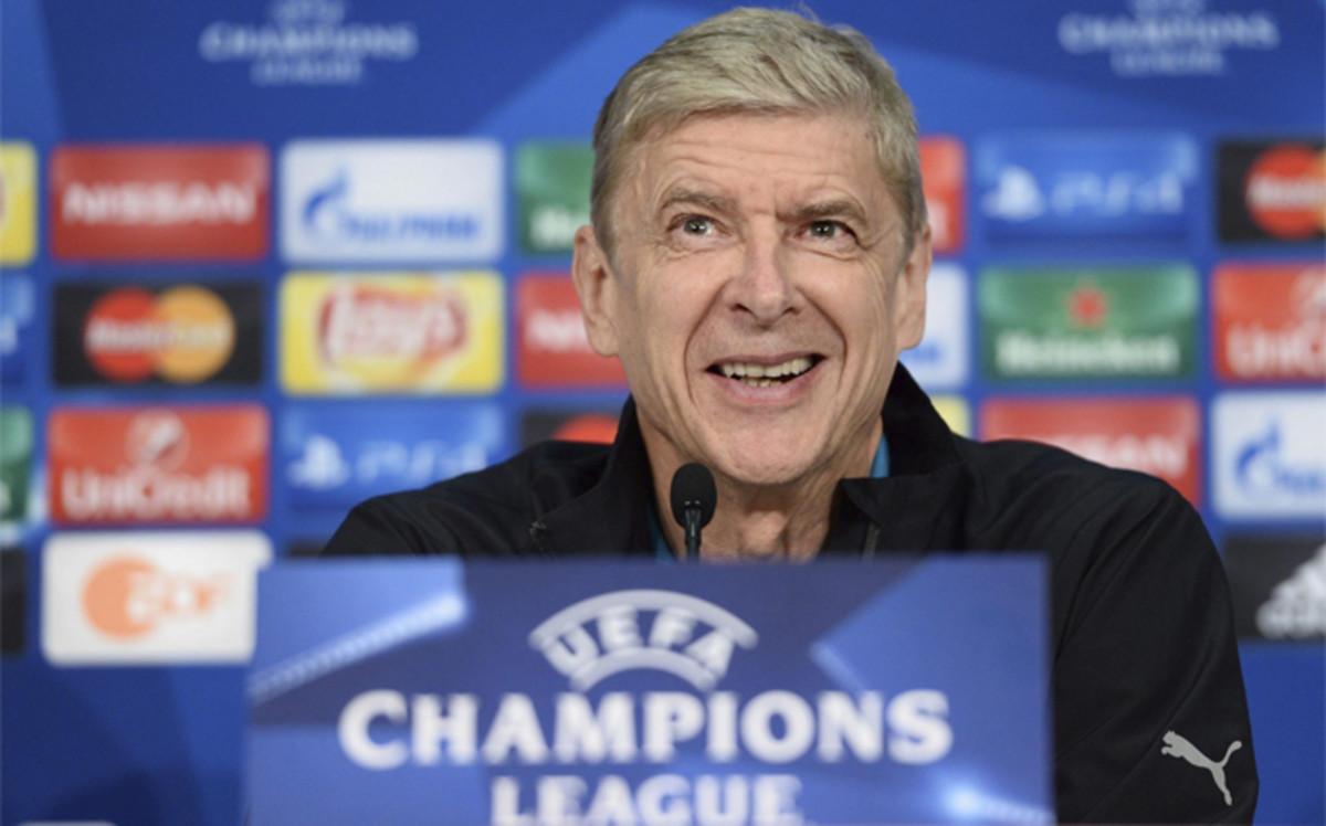 La rueda de prensa Arsene Wenger, en directo