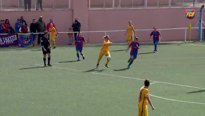 El Barcelona sufre ante el Levante UD