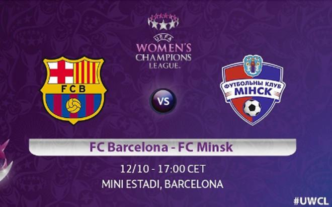 El FC Barcelona - FC Minks ha cambiado de horario