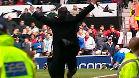La celebraci�n de Mourinho en Old Trafford en 2004