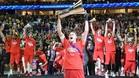 El CSKA se proclam� campe�n de la Euroliga en un fin de semana de emoci�n y j�bilo