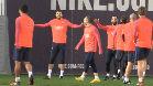 La curiosa respuesta de Piqué a un reproche de Suárez