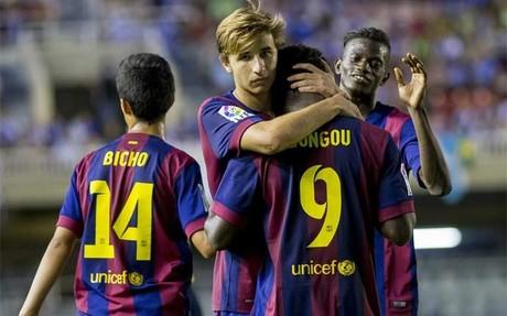 A Dongou ya le han abrazado cuatro veces en esta Liga