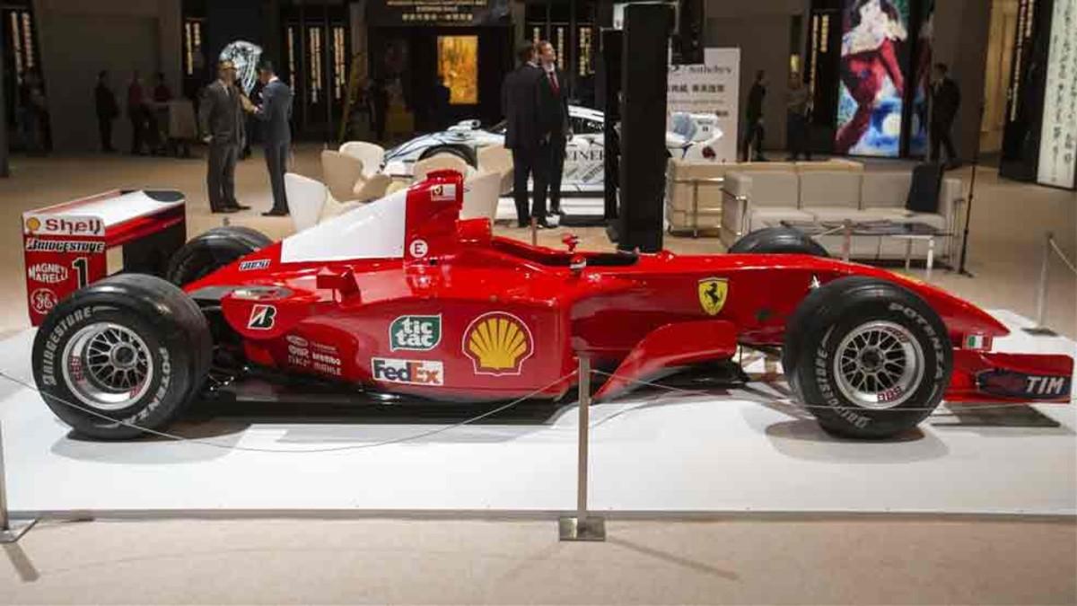 El Ferrari de Schumacher bate un récord en las subastas