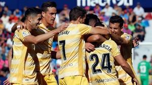 El Girona disfrutó de una victoria épica en València