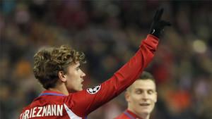 Griezmann, delantero del Atlético de Madrid