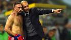 La ir�nica respuesta de Guardiola a Ribery