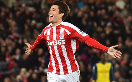 El de Linyola ha recuperado la sonrisa en el Stoke City