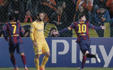 Messi dej� atr�s a Ra�l y ya es el m�ximo goleador de la Champions League
