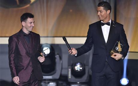 Messi y Ronaldo son los jugadores con m�s apariciones en el once ideal de la FIFA