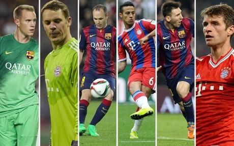 Pichi Alonso analiza, l�nea por l�nea, las cualidades de Bar�a y Bayern