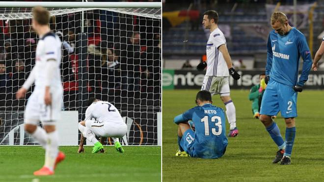 Tottenham y Zenit, eliminados de la Europa League por sorpresa