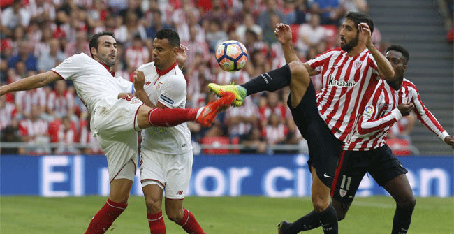 Video resumen Athletic - Sevilla (3-1). Jornada 6, Liga Santander 2016-17