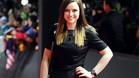 La cantante escocesa Amy McDonald a su llegada a la gala del Balón de Oro