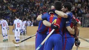 El FC Barcelona Lassa derrotó al Porto y le ganó el goal-average