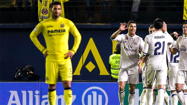 Video resumen Villarreal - Real Madrid (2-3). Jornada 24, Liga Santander