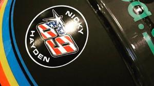 Imagen del casco que llevará Alonso en la pole de Indianápolis