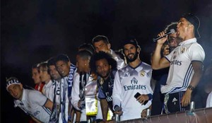 Los jugadores del Real Madrid se acordaron de Gerard Piqué