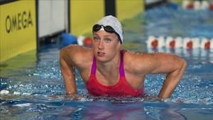 Mireia Belmonte ya trabaja duro de cara al Mundial de Budapest