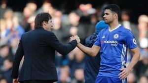 Diego Costa se lo pondrá difícial a Antonio Conte si permanece en el club hasta enero