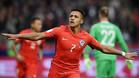 Alexis hizo historia ante Alemania