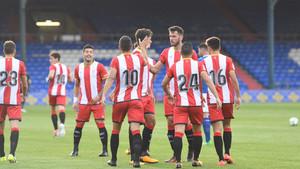 El Girona venció al Oldham por 1-2