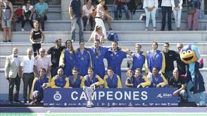 El Altétic Barceloneta no dio opción al Terrassa y sumó su tercera Supercopa consecutiva