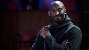 Kobe Bryant, en un acto publicitario en París