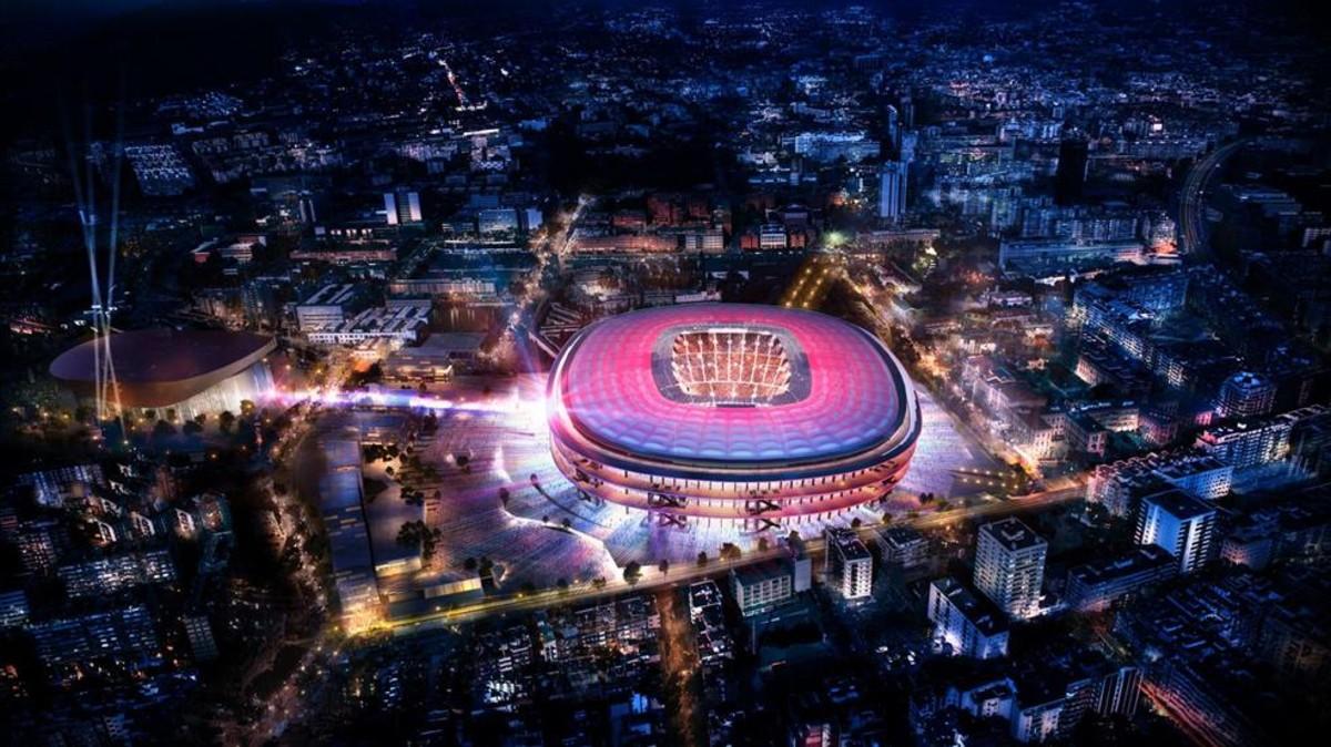 El Barcelona abre la licitación para la remodelación del Camp Nou y el Palau Blaugrana