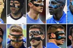 Jugadores del Chelsea que han llevado m�scara junto a Diego Costa.