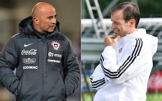 Sampaoli podr�a ir a la Juventus si Allegri se va al Chelsea