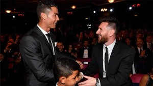 Messi habló de sus relaciones con Cristiano Ronaldo