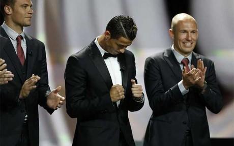 """El momento de la \""""celebraci�n\"""" de Ronaldo"""