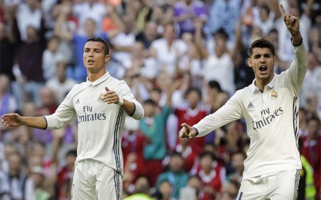 Morata est� dejando en evidencia a Cristiano Ronaldo