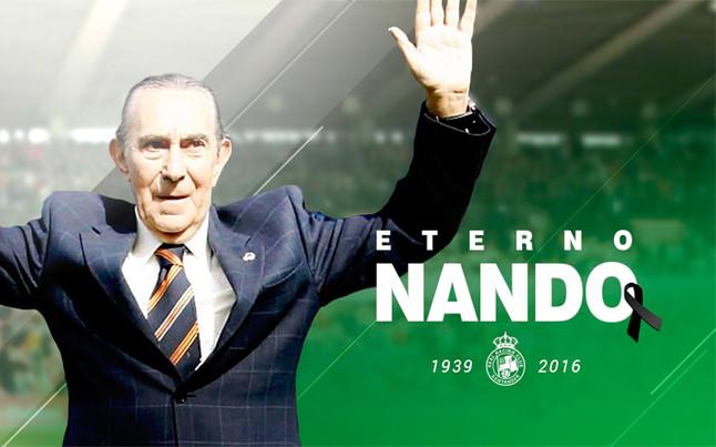 Fallece Nando Yosu, una leyenda del Racing