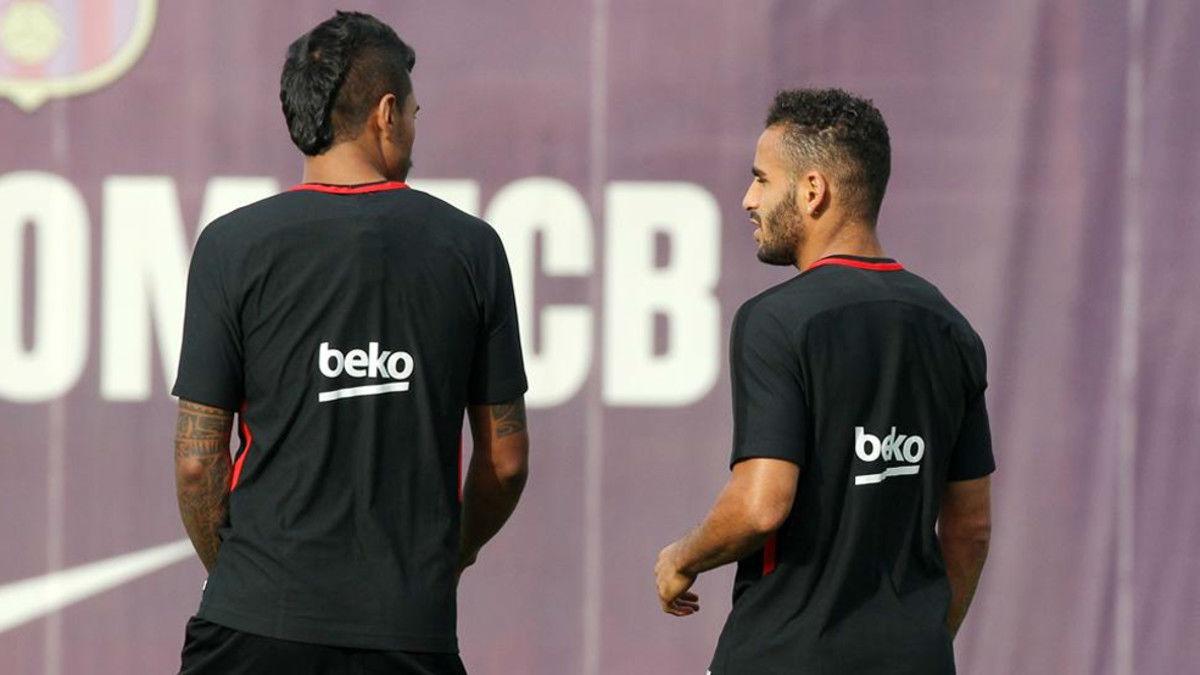 Último entrenamiento del Barça antes de enfrentarse al Betis