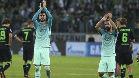 Vea las mejores im�genes del Borussia M'Gladbach - FC Barcelona